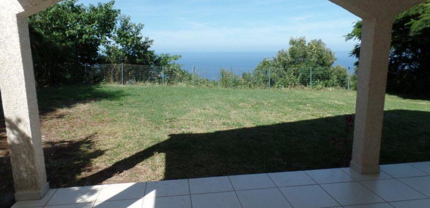 Grande villa F5 avec vue mer